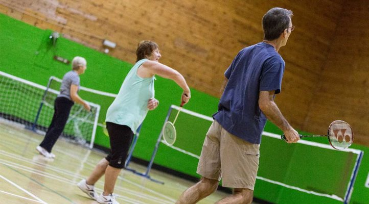 Badminton-Slider
