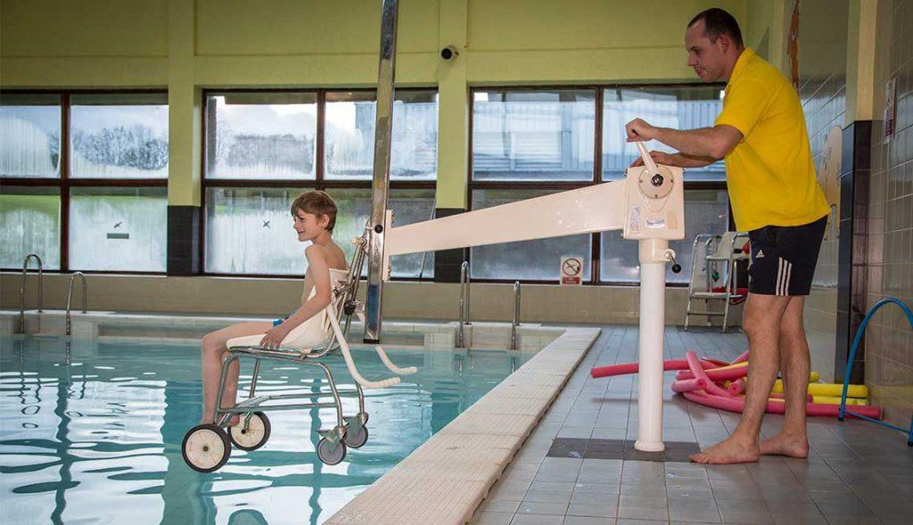 Disabled Access Stocksbridge Community Leisure Centre