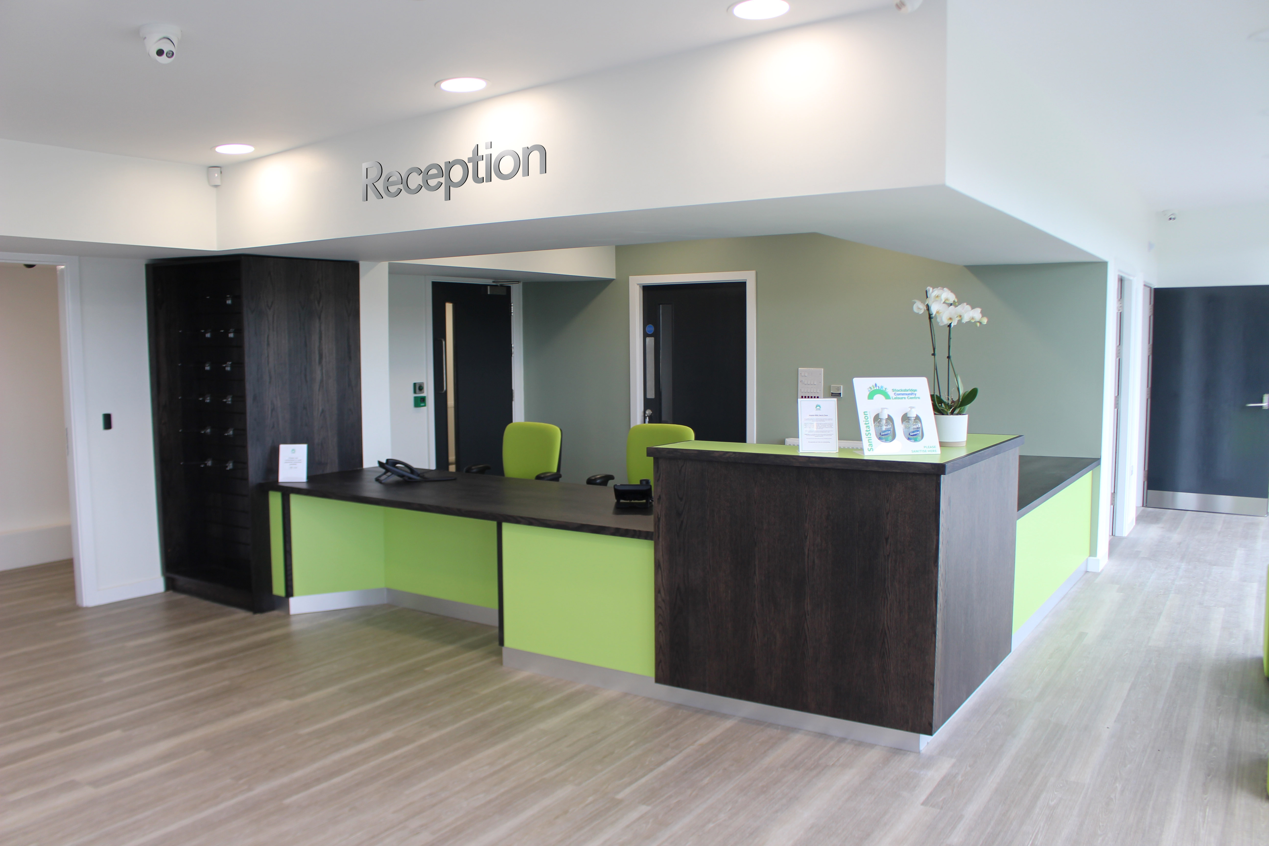 Stunning new reception area to welcome visitors